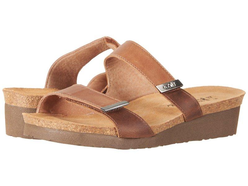 ナオト レディース サンダル シューズ Jacey - Wide Latte Brown Leather/Saddle Brown Leather/Sterling Leather