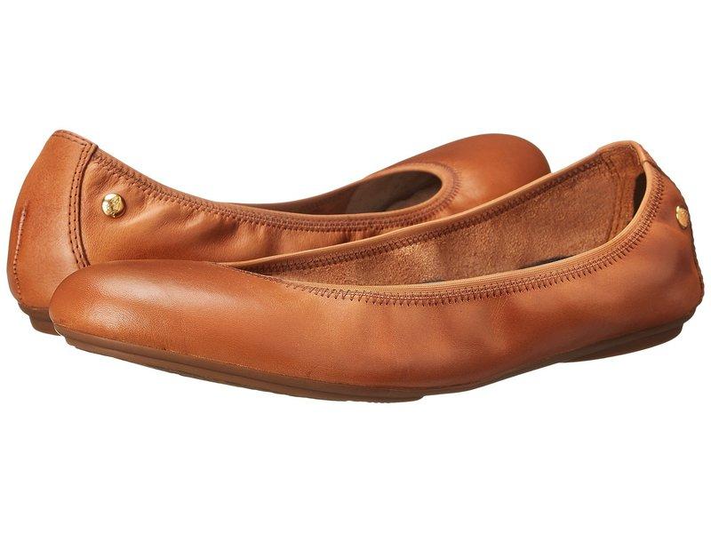 ハッシュパピー レディース サンダル シューズ Chaste Ballet Cognac Leather