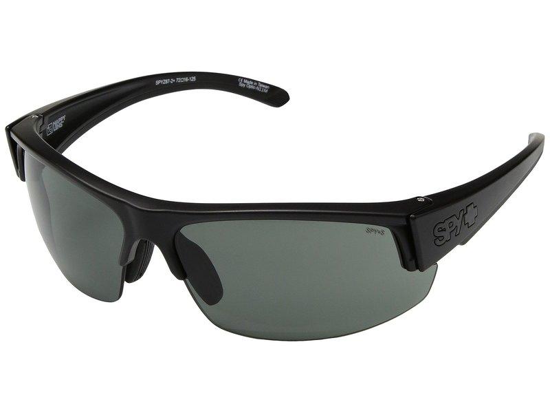 スパイオプティック メンズ サングラス・アイウェア アクセサリー Sprinter Matte Black Ansi RX/Happy Gray Green