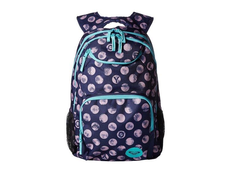 ロキシー レディース バックパック・リュックサック バッグ Shadow Swell Backpack Patriot Blue Roxy Dots