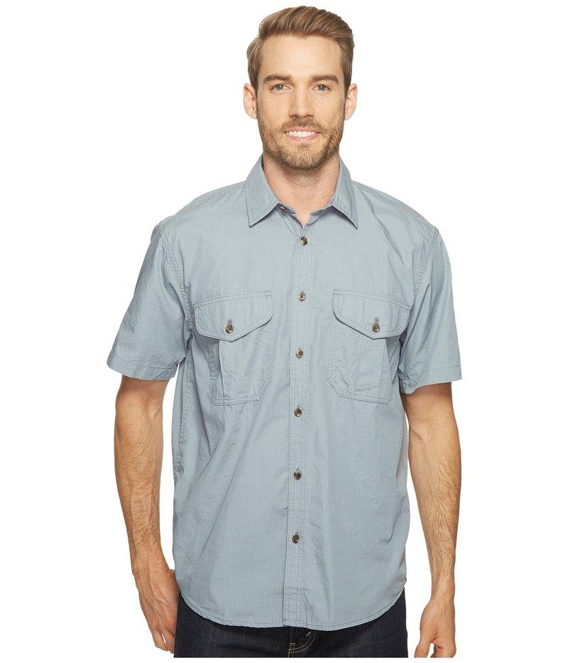 フィルソン メンズ シャツ トップス Short Sleeve Feather Cloth Shirt Smoke Blue