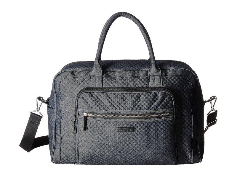 ベラブラッドリー レディース ボストンバッグ バッグ Iconic Weekender Travel Bag Denim Navy