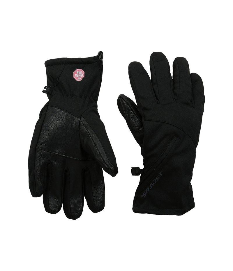 【超目玉枠】 セイラス レディース Black 手袋 手袋 アクセサリー Cyclone Glove Glove Black, ウラガワラムラ:27188e68 --- blablagames.net