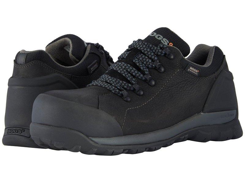 ボグス メンズ スニーカー シューズ Foundation Leather Low Comp Toe Black
