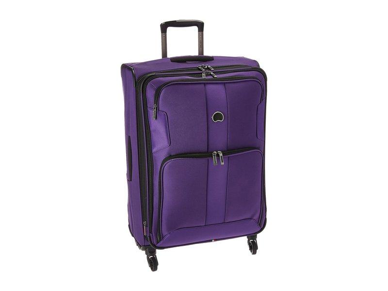 デルシー メンズ ボストンバッグ バッグ Sky Max Expandable 29 Spinner Upright Purple