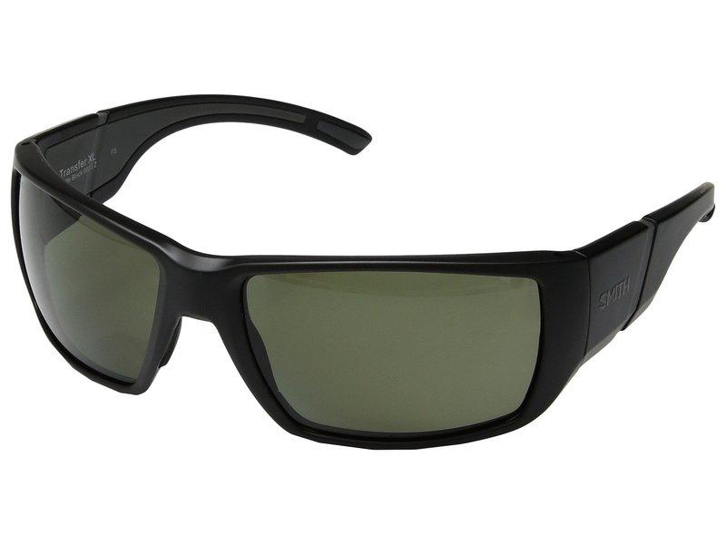 スミスオプティックス メンズ サングラス・アイウェア アクセサリー Transfer XL Matte Black/Gray Green ChromaPop Polarized Lens