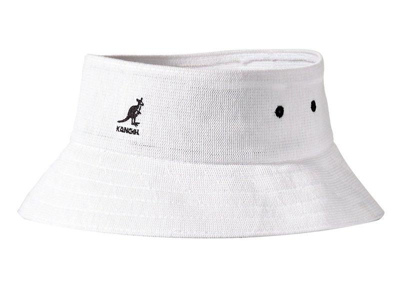 カンゴール メンズ 帽子 アクセサリー Bamboo Cut Off Bucket White