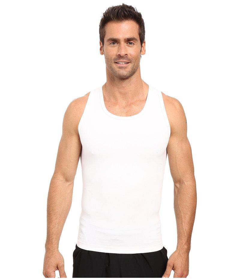 ツーイグジスト メンズ シャツ トップス Shapewear Form Tank White