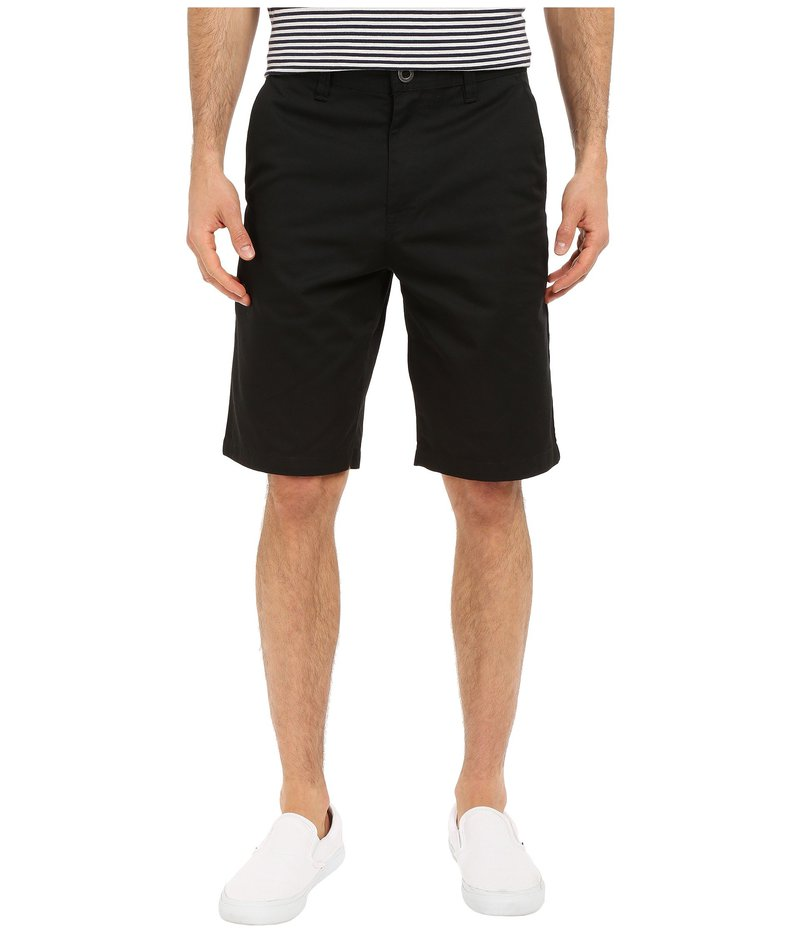 ボルコム メンズ ハーフパンツ・ショーツ ボトムス Frickin Chino Shorts Black