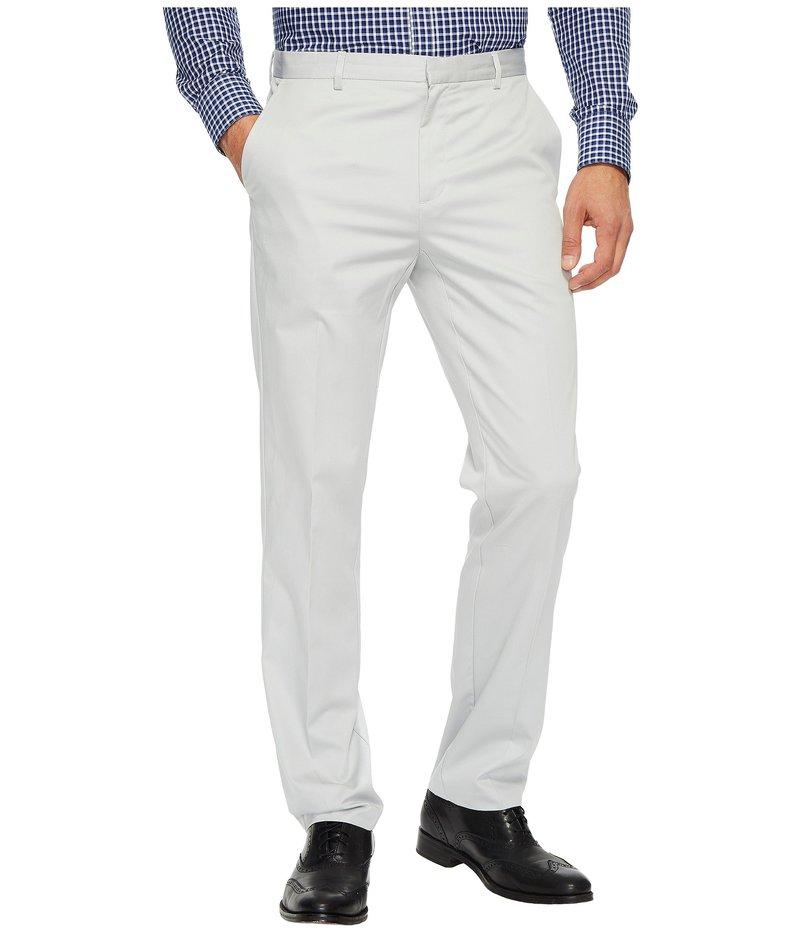 カルバンクライン メンズ カジュアルパンツ ボトムス Slim Fit Refined Twill Pant Grey Violet