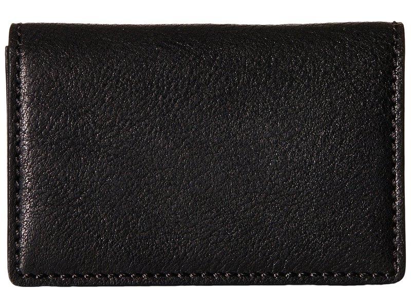 ボスカ メンズ 財布 アクセサリー Washed Collection - Full Gusset Card Case Black