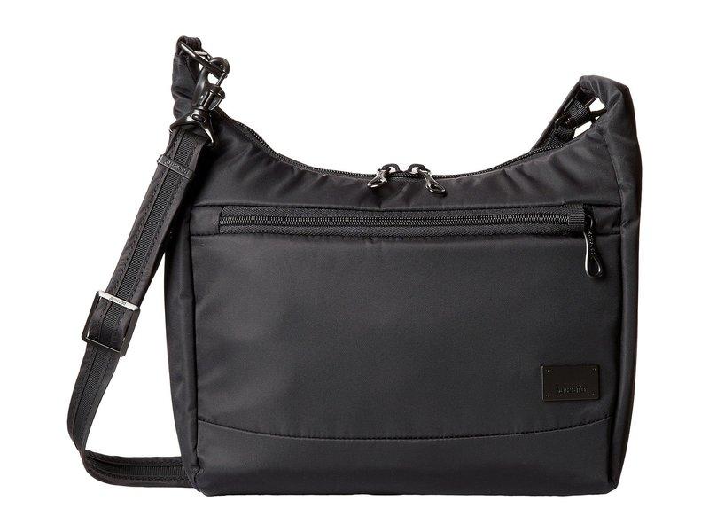 パックセーフ レディース ハンドバッグ バッグ Citysafe CS100 Anti-Theft Travel Handbag Black