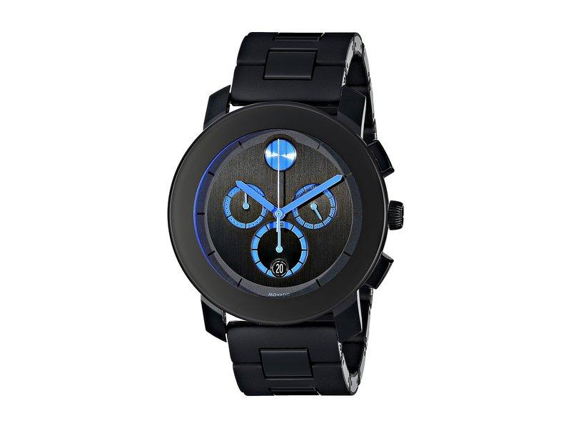 モバド メンズ 腕時計 アクセサリー Bold - 3600101 Black TR90/Stainless Steel