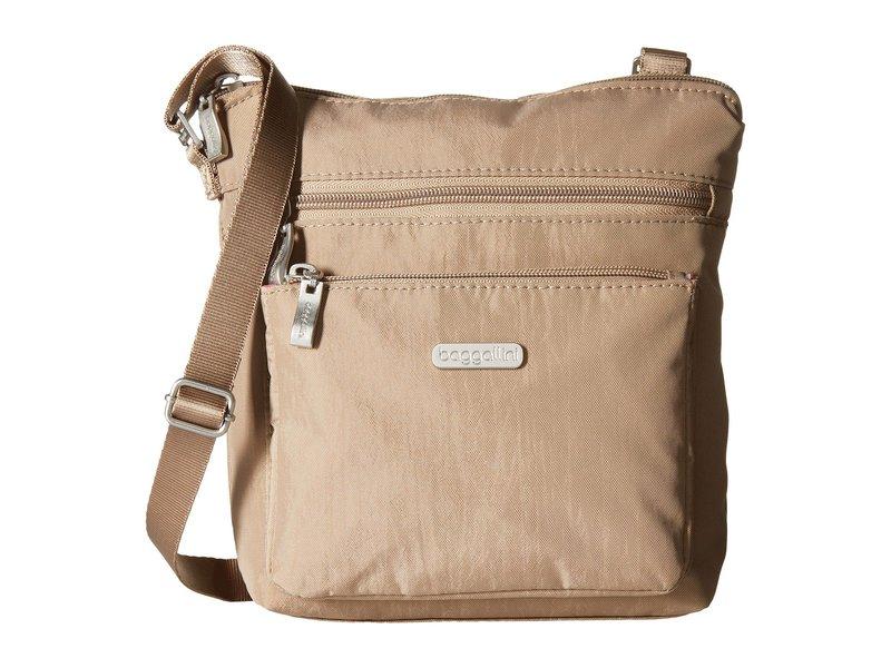 バッガリーニ レディース ハンドバッグ バッグ Pocket Crossbody Bag with RFID Wristlet Beach