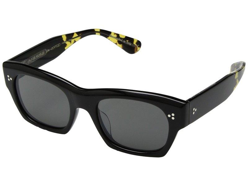 オリバーピープルズ メンズ サングラス・アイウェア アクセサリー Isba Black/Carbon Grey