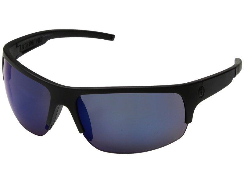 エレクトリックアイウェア メンズ サングラス・アイウェア アクセサリー Tech One Pro Matte Black/Ohm+ Polar Blue