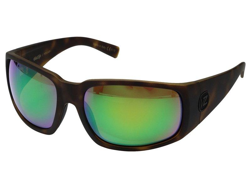 ボンジッパー メンズ サングラス・アイウェア アクセサリー Palooka Polarized Tortoise Satin/Wild Green Chrome Polar Plus