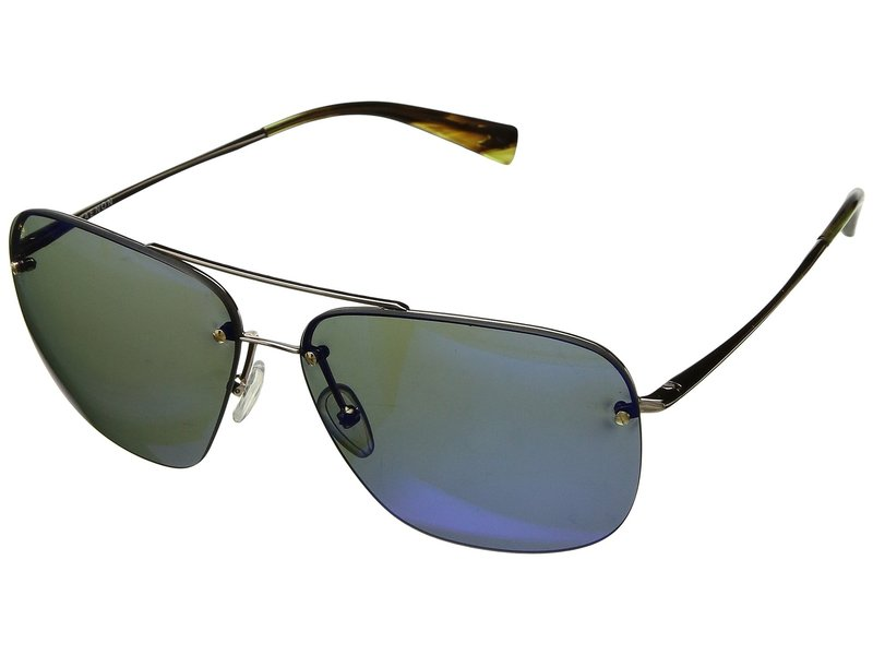 カエノン メンズ サングラス・アイウェア アクセサリー Coronado Gold/Tortoise Pacific Blue Mirror