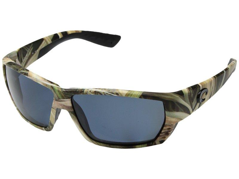 コスタ メンズ サングラス・アイウェア アクセサリー Tuna Alley Mirror Mossy Oak Shadow Grass Blades Camo Frame/Gray 580P
