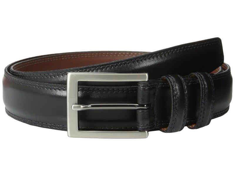 トリーノレザー メンズ ベルト アクセサリー 32MM Aniline Leather Black