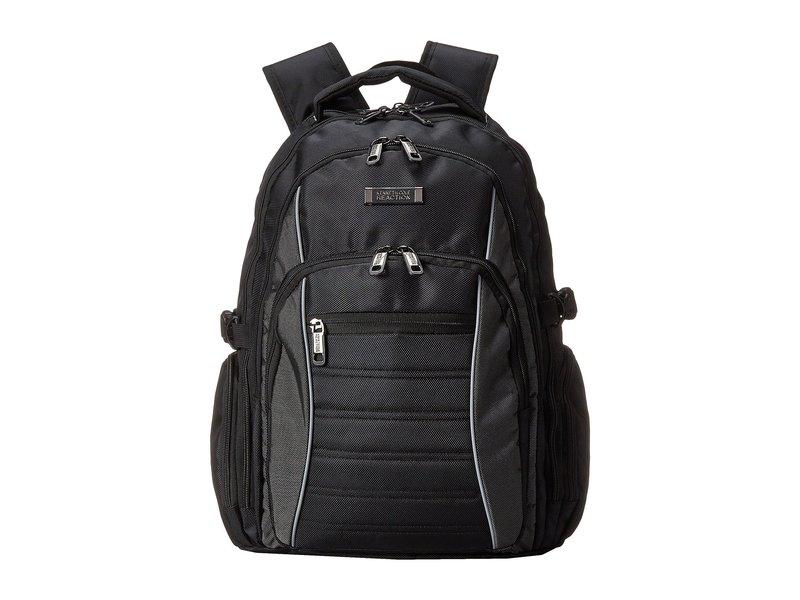 ケネスコール メンズ バックパック・リュックサック バッグ No Looking Back Computer Backpack Black