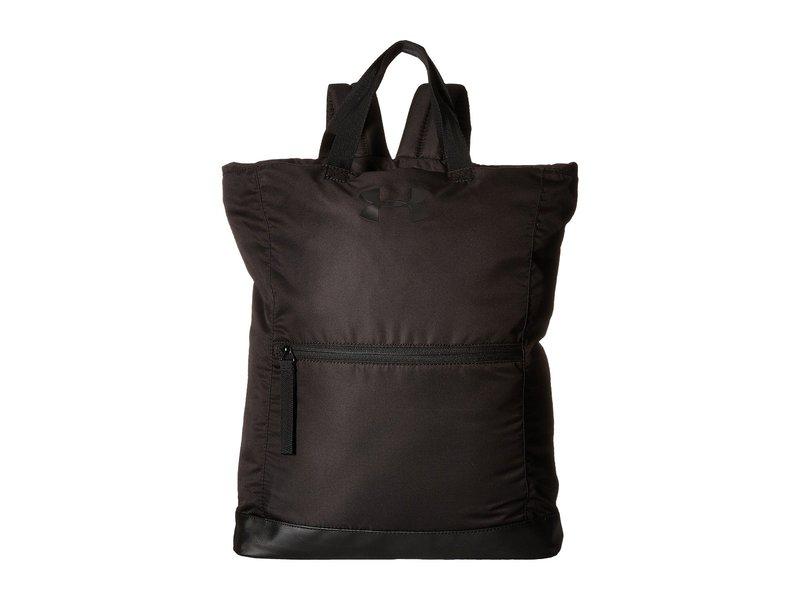 アンダーアーマー レディース バックパック・リュックサック バッグ UA Multi-Tasker Backpack Black/Black/Black