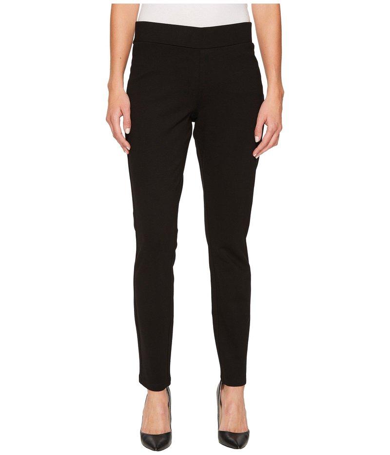 エヌワイディージェイ レディース カジュアルパンツ ボトムス Basic Ponte Legging Pants Black