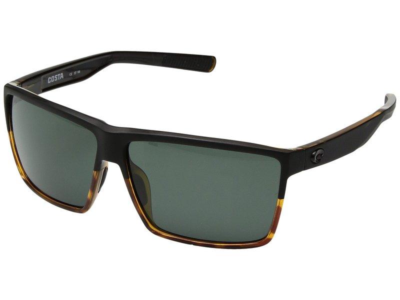 コスタ メンズ サングラス・アイウェア アクセサリー Rincon Matte Black/Shiny Tortoise/Gray 580G