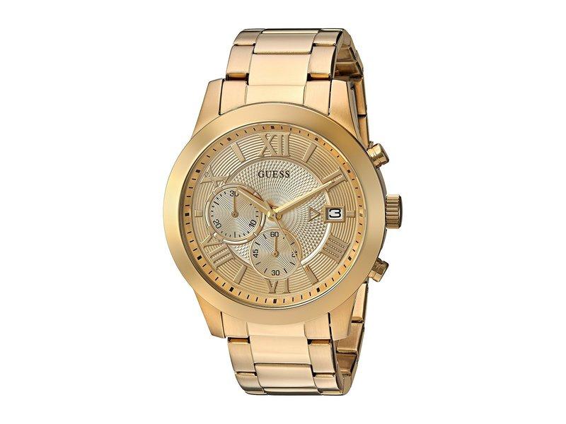 ゲス メンズ 腕時計 アクセサリー U0668G4 Gold