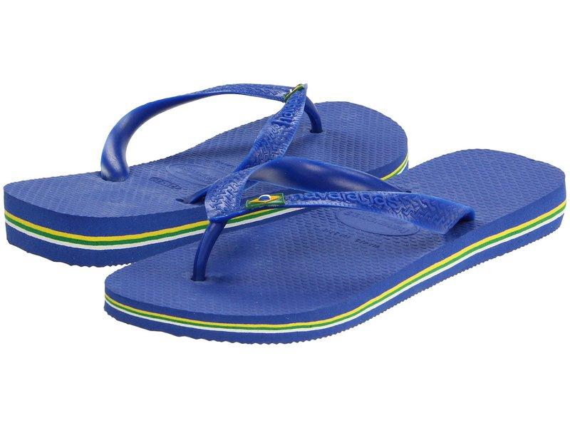 ハワイアナス レディース サンダル シューズ Brazil Flip Flops Marine Blue
