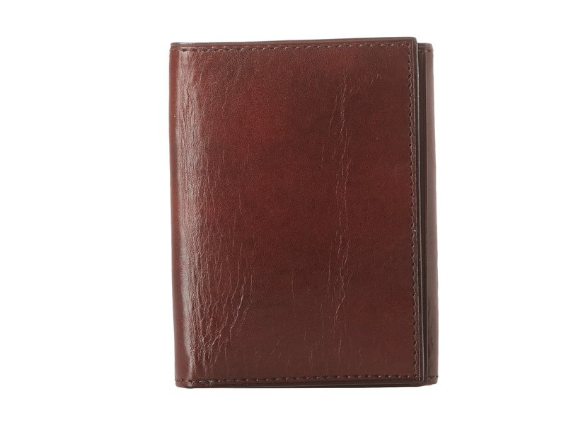 ボスカ メンズ 財布 アクセサリー Old Leather Collection - Trifold Wallet Dark Brown Leather