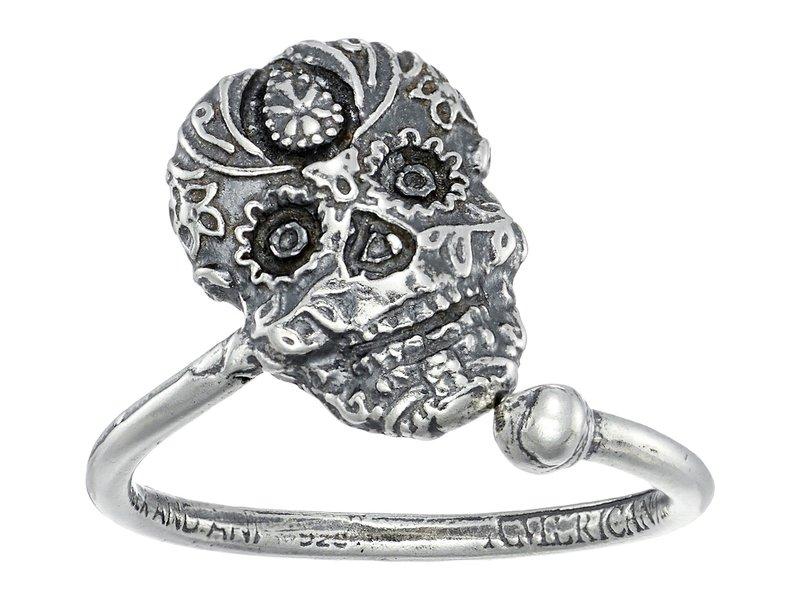 アレックスアンドアニ レディース リング アクセサリー Calavera Ring Wrap Sterling Silver