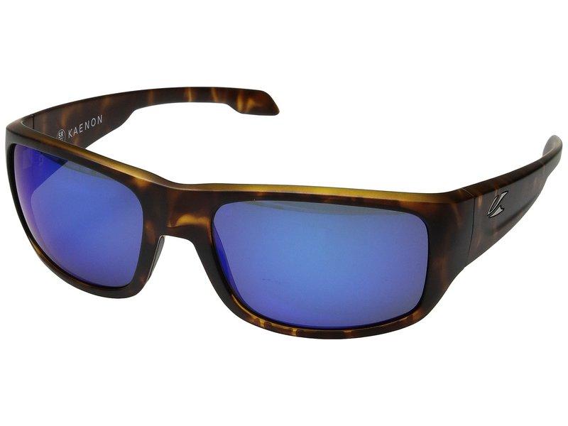 カエノン メンズ サングラス・アイウェア アクセサリー Anacapa Matte Tortoise/Pacific Blue Mirror