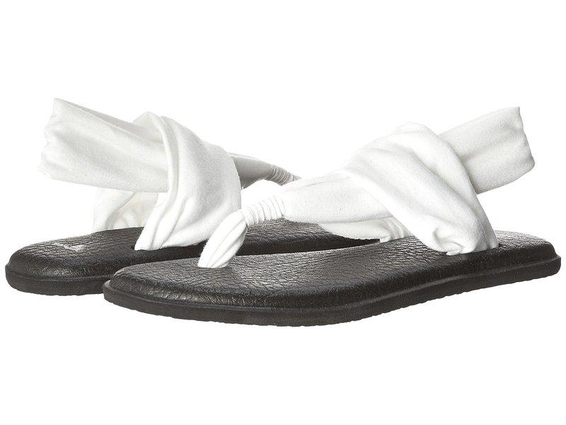 サヌーク レディース サンダル シューズ Yoga Sling 2 White