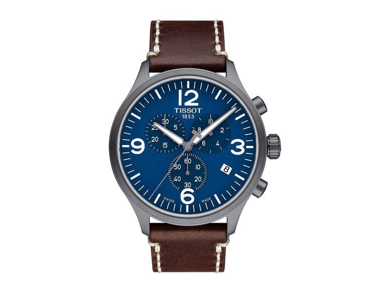 ティソット メンズ 腕時計 アクセサリー Chrono Xl - T1166173604700 Silver/Brown