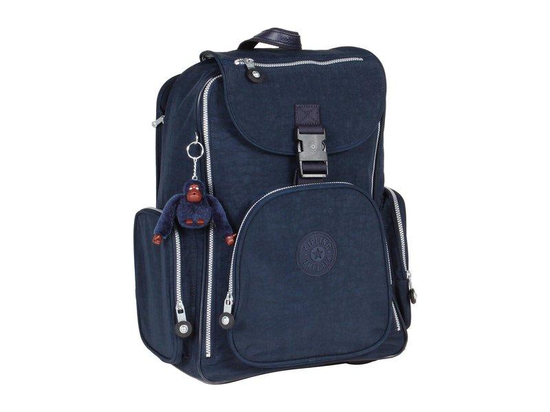 キプリング レディース バックパック・リュックサック バッグ Alcatraz II Backpack With Laptop Protection Blue