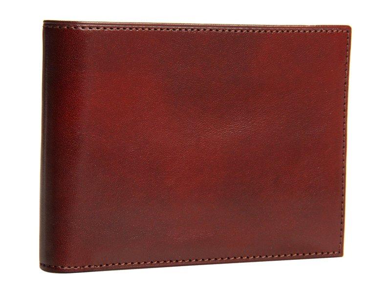 ボスカ メンズ 財布 アクセサリー Old Leather Collection - Credit Wallet w/ ID Passcase Cognac Leather
