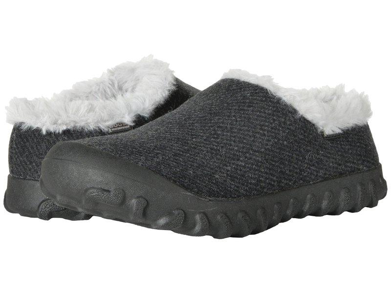 ボグス レディース サンダル シューズ B-Moc Slip-On Wool Black