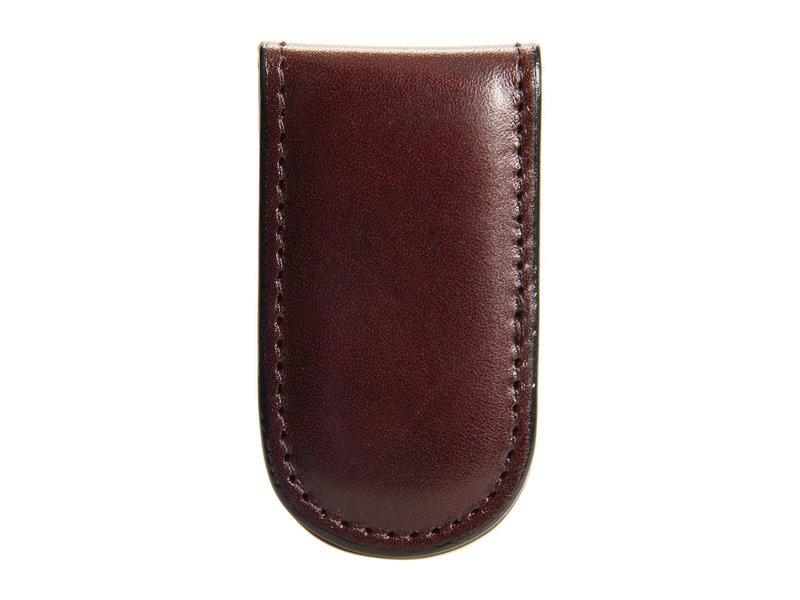 ボスカ メンズ 財布 アクセサリー Old Leather Collection - Magnetic Money Clip Dark Brown Leather