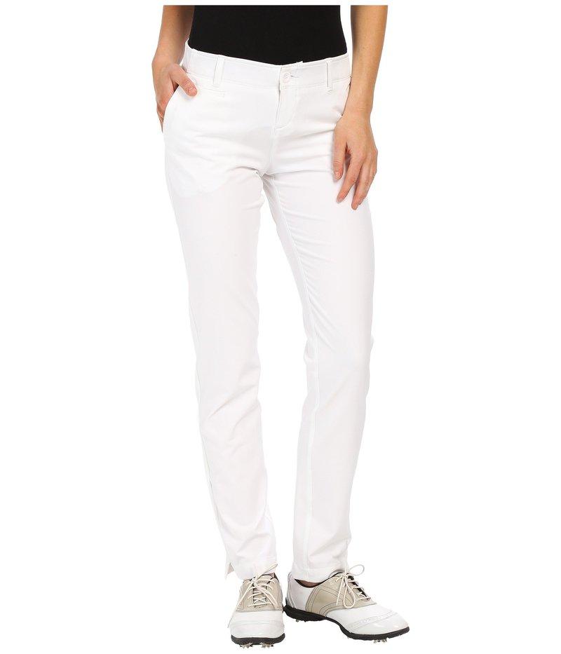 アンダーアーマー レディース カジュアルパンツ ボトムス Links Pants White/True Gray Heather/White