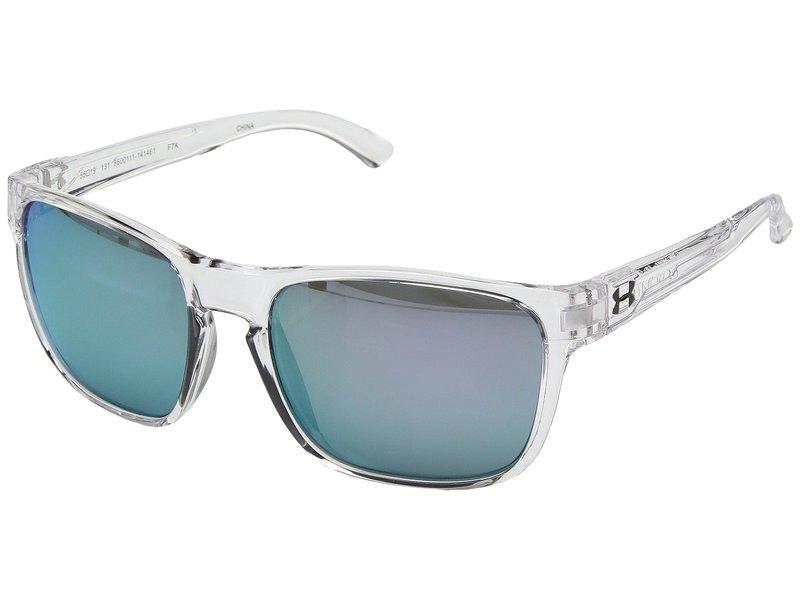 アンダーアーマー メンズ サングラス・アイウェア アクセサリー UA Glimpse Gloss Crystal Clear/Blue Lens