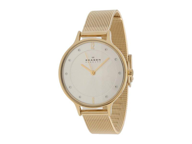 スカーゲン レディース 腕時計 アクセサリー Albuen Gold