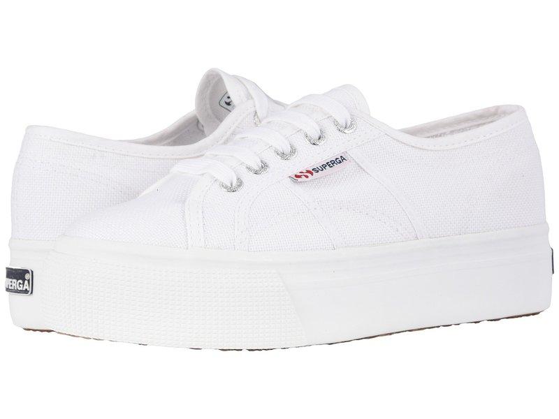 スペルガ レディース スニーカー シューズ 2790 Acotw Platform Sneaker White