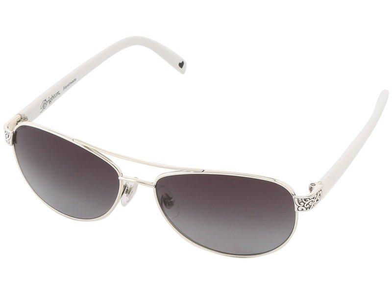 ブライトン レディース サングラス・アイウェア アクセサリー Sugar Shack Sunglasses White/Silver