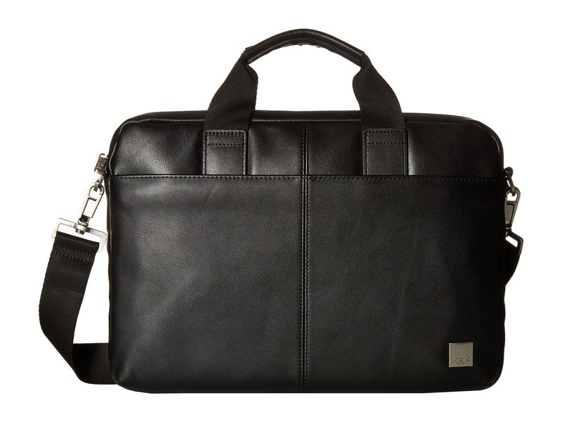 クノモ メンズ PC・モバイルギア アクセサリー Brompton Classic Stanford Slim Briefcase Black