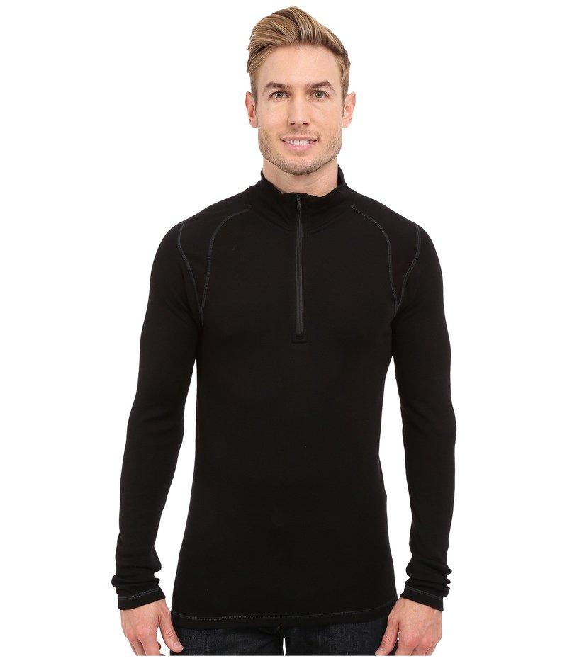 スマートウール メンズ シャツ トップス NTS Mid 250 Zip T Top Black