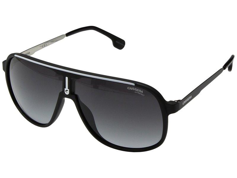 カレーナ メンズ サングラス・アイウェア アクセサリー Carrera 1007/S Matte Black with Dark Gray Gradient Lens