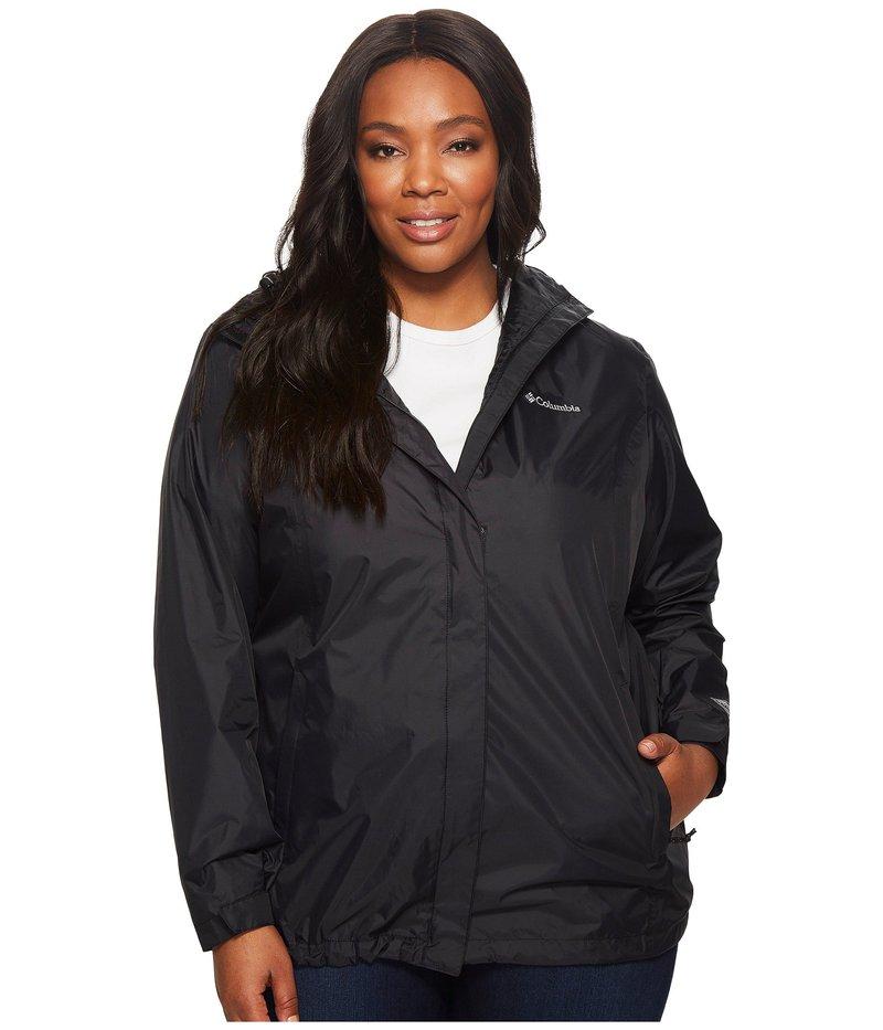 コロンビア レディース コート アウター Plus Size Arcadia II Jacket Black
