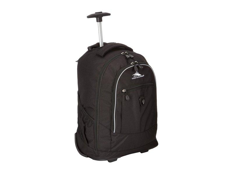 ハイシエラ メンズ バックパック・リュックサック バッグ Chaser Wheeled Backpack Black