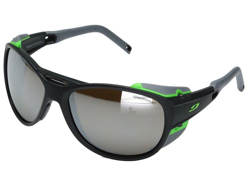 ジュルボアイウェア メンズ サングラス・アイウェア アクセサリー Explorer 2.0 Sunglasses Matte Gray/Green With Spectron 4 Lens